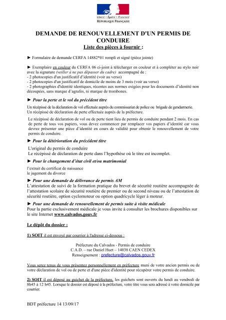 FORMULAIRE CONDUIRE TÉLÉCHARGER DE DUPLICATA PERMIS