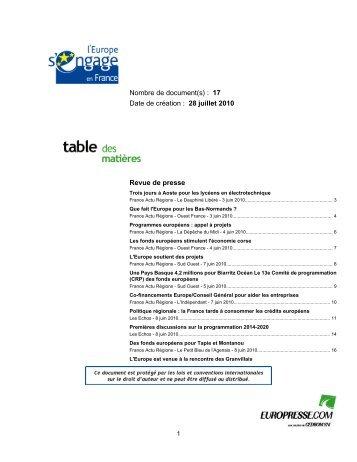 RdP_juin 2010.pdf - Europe en France, le portail des Fonds ...