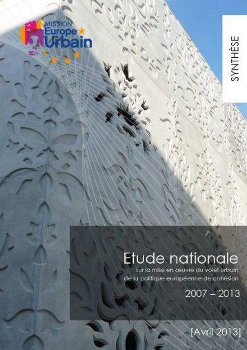 table des matieres - Europe en France