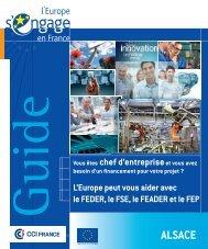 ALSACE - Europe en France, le portail des Fonds européens