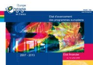 Etat d\'avancement_PO2007_01-07-09.pdf - Europe en France