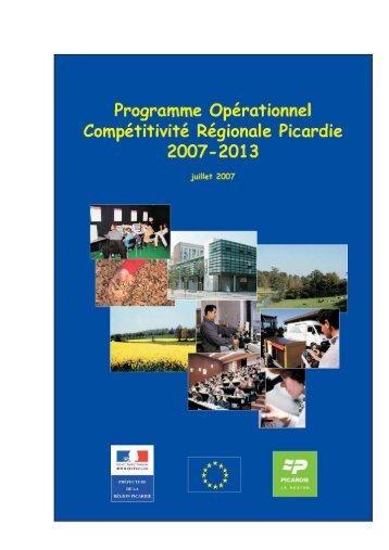 po feder picardie - Europe en France, le portail des Fonds européens