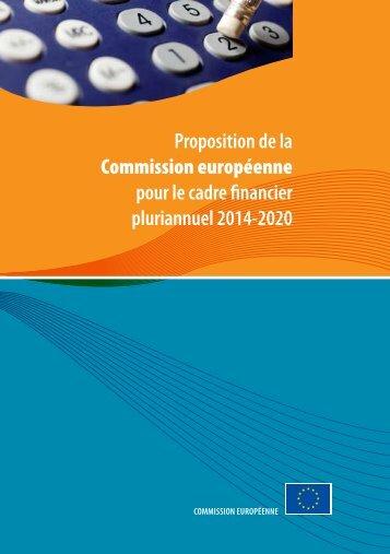 pour le cadre financier pluriannuel 2014-2020 - Europa