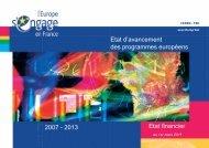 Etat d\'avancement_01-03-11.pdf - Europe en France, le portail des ...