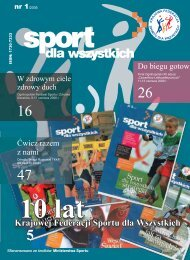 pobierz - Krajowa Federacja Sportu Dla Wszystkich