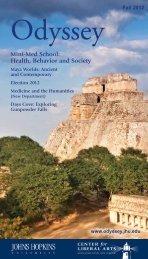 Course Catalog (PDF) - Odyssey - Johns Hopkins University