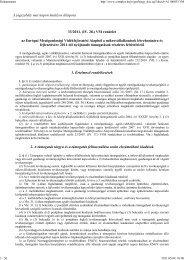 A jogszabály mai napon hatályos állapota 33/2011. (IV. 28.) VM ...