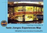 Taste Jiangsu Experiences Map - Belle Tourism International