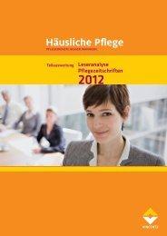 Leseranalyse Pflegezeitschriften - Altenheim Online