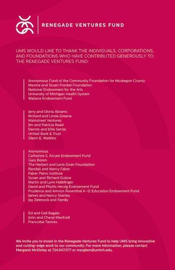 mariinsky orchestra - University Musical Society