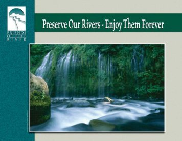 Preserve Our Rivers - Friends of the River