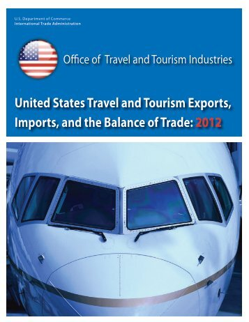 International Visitor Spending - Office of Travel and Tourism Industries