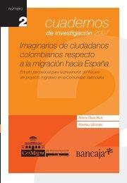 Imaginarios de ciudadanos colombianos respecto a la - CeiMigra
