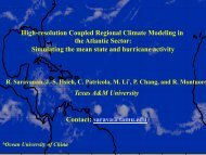 High-resolution Coupled Regional Climate Modeling in the Atlantic ...