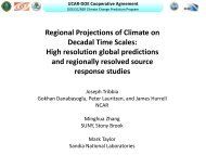 High-resolution global predictions and regionally resolved source