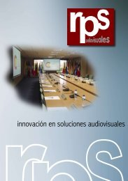 Descargar folleto comercial (PDF-1Mb) - RPS Audiovisuales