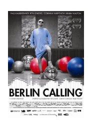 Berlin Calling Pressbook english