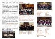 """""""Amigos de la Schola Cantorum de Comillas"""" (antiguos cantores de ..."""