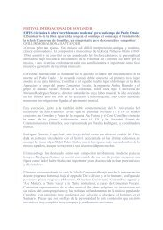 Otaño en el FIS. El Diario Montañés. 11.8.2006 - Schola Cantorum ...