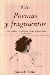 Poemas - Schola Cantorum de Comillas