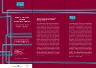 theatre cultures within globalising empires - Freie Universität Berlin