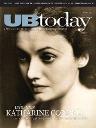 KATHARINE CORNELL - University at Buffalo