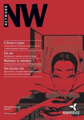 NW NETW ORK - Ashridge
