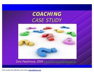 Coaching Case Study (PDF) - Coach in VET