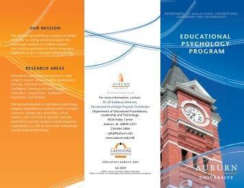 583KB - College of Education - Auburn University