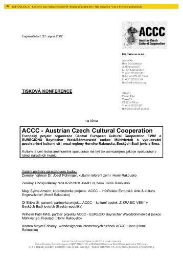 Tiskový text - AC-CC - Home