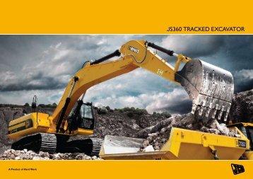 JS360 TRACKED EXCAVATOR - JCB