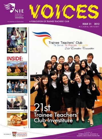 Issue 21 - National Institute of Education