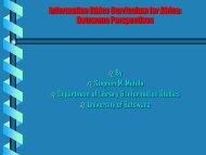 Stephen Mutula - Africa Information Ethics Portal