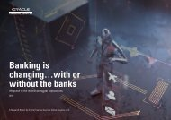 Banking is changing…with or without the banks