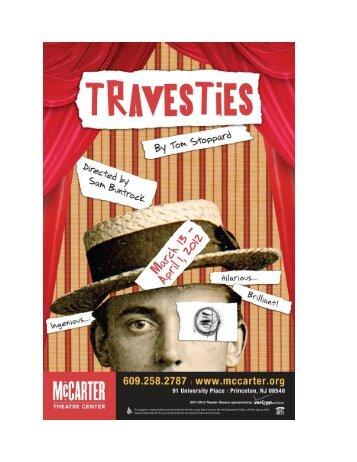 Tom Stoppard - McCarter Theatre