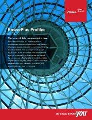 PowerPlus Profiles - Sabre Travel Network