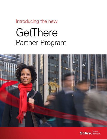 Introducing The New GetThere - Sabre Travel Network