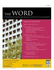 graduate news - English - University of British Columbia
