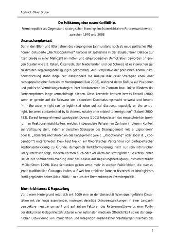 Abstract - Düsseldorfer Forum Politische Kommunikation