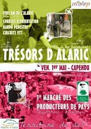 Trésor d'Alaric - Le Pays Carcassonnais
