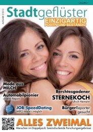 2012/05 Stadtgeflüster Alles Zweimal