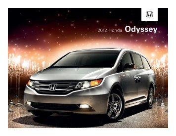 2012 Honda Odyssey - Honda Carland