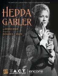 Hedda Gabler - American Conservatory Theater