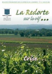 juillet 2005 - La Redorte