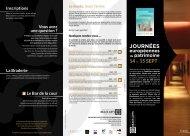 Programme - Musée des beaux-arts de Dijon - Ville de Dijon