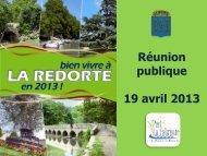 Budget 2013 - La Redorte