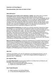 Gedanken und Vorschläge zur Zukunftswerkstatt - Gruene Bad ...
