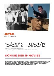 Ich Udo...starring Udo Kier - ARTE PRESSE