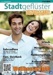 2013/05 Stadtgeflüster Wellnessurlaub