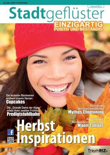 2013/09 Stadtgeflüster Herbst Inspirationen